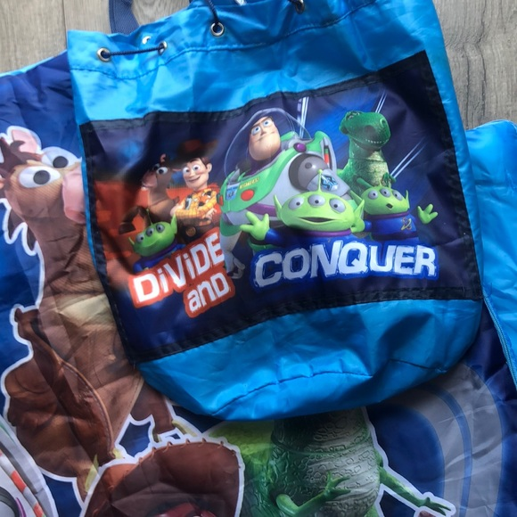 Toy Story Andy Buzz sleeping bag